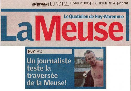 La Meuse 21-02-05 - encart