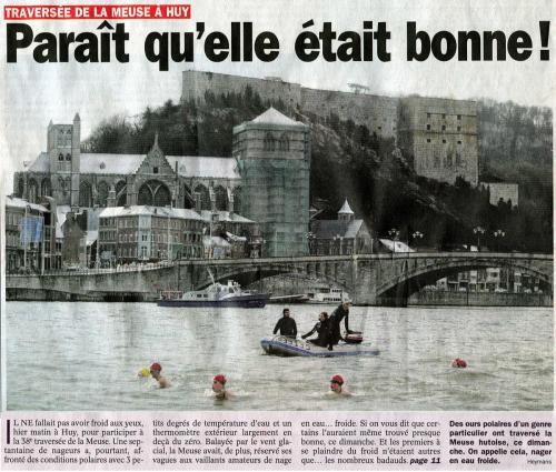 Article Le Jour 28-02-05 - 1ere page